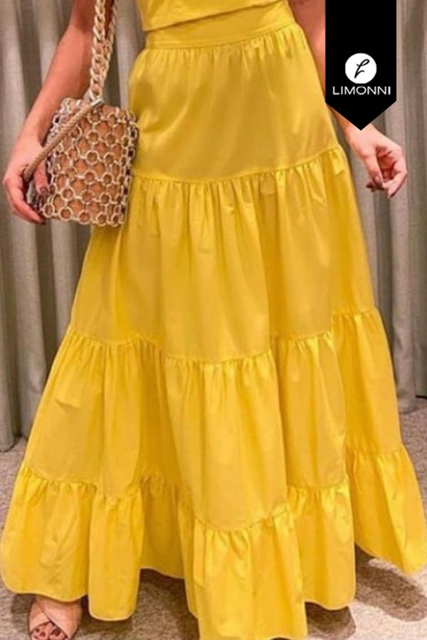 Faldas para mujer Limonni Visionary LI8014 Largos elegantes