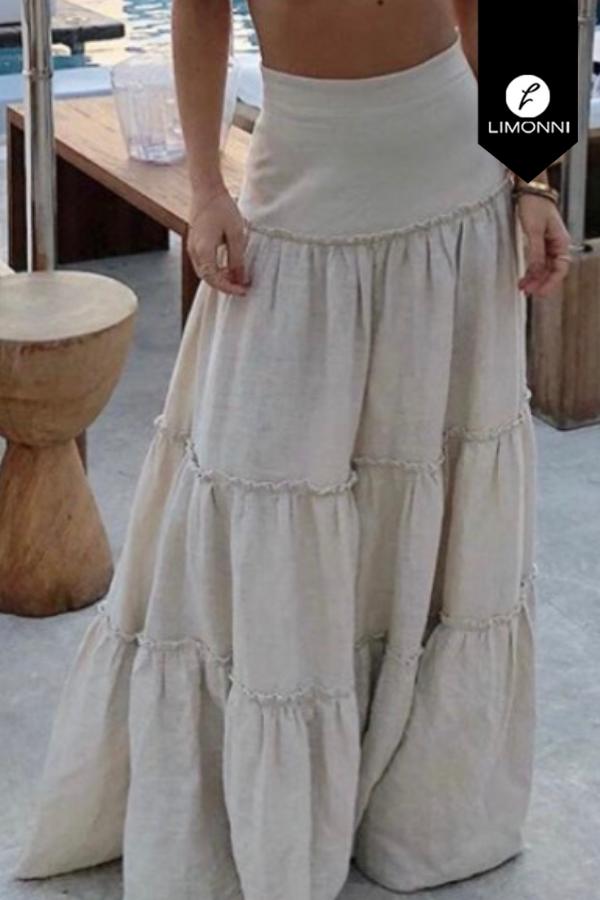 Faldas para mujer Limonni Visionary LI8015 Largos elegantes
