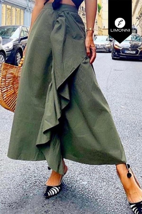 Faldas para mujer Limonni Visionary LI8017 Largos elegantes