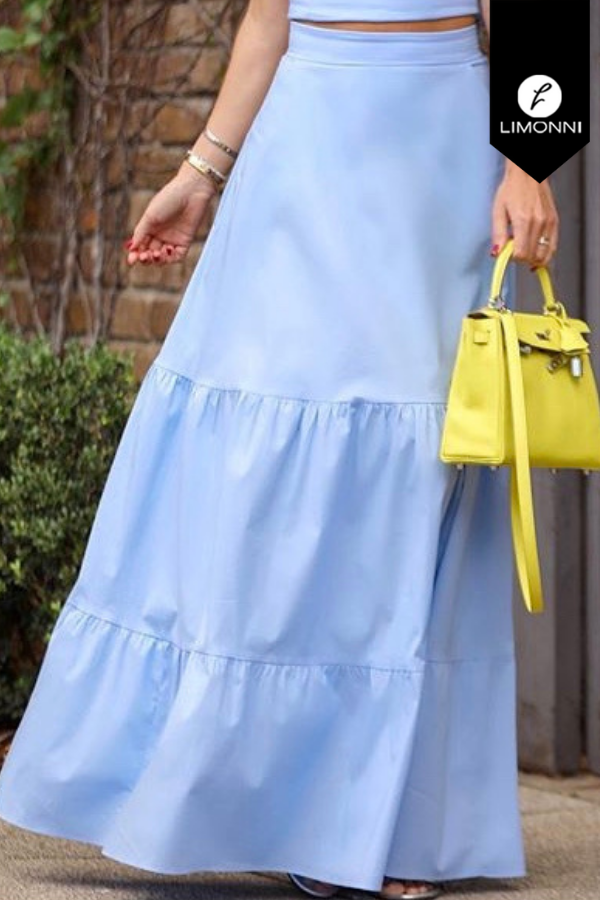 Faldas para mujer Limonni Visionary LI8018 Largos elegantes